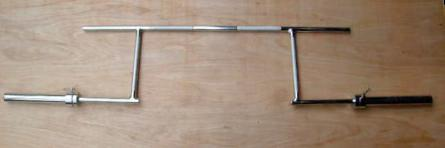 Rackable Cambered Olympic Bar