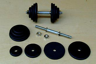 adjustable dumbell