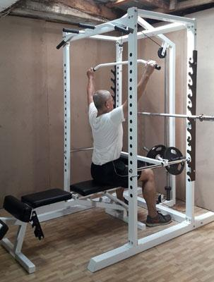power station lat pulldown