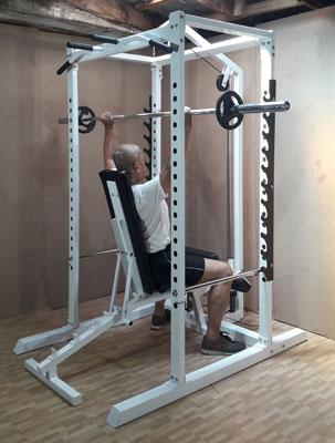 power station shoulder press