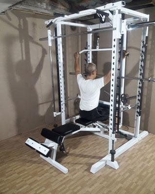 power tower lat pulldown