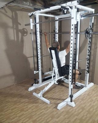 power tower shoulder press