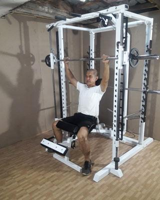 power tower smith shoulder press