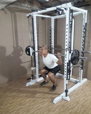 power tower smith squats