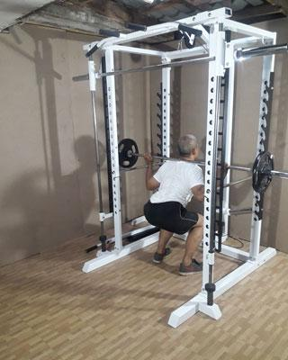 power tower squats