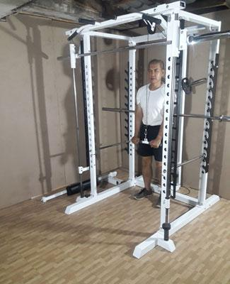 power tower tricep pressdown
